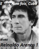 Reinaldo Arenas, Jorge Camacho, littérature cubaine, le mois cubain