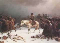 napoleon, guerre, neige